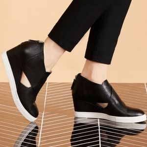 Linea Paolo Faith Cutout Wedge Sneaker